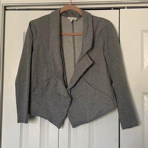 Jackets & Blazers - Sweatshirt gray jacket